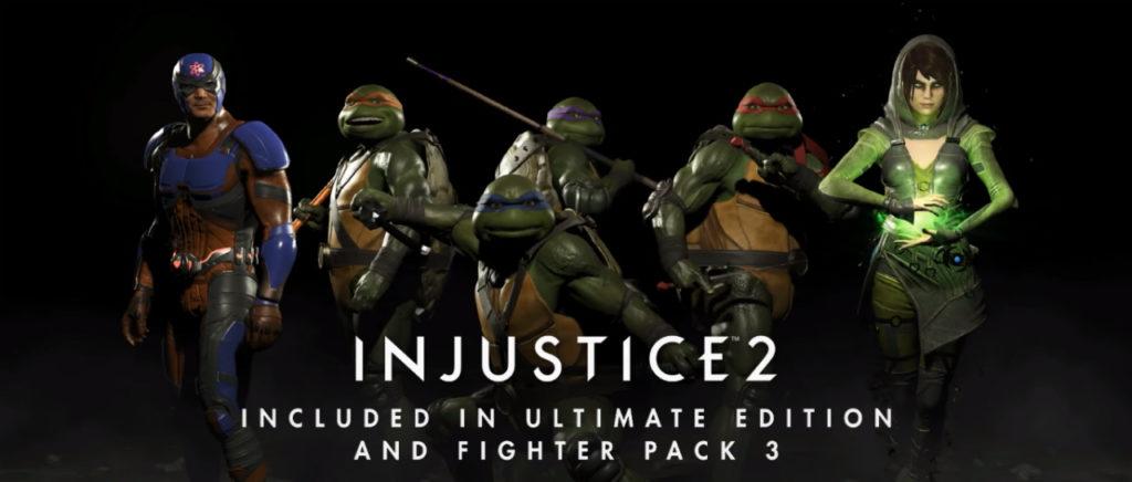 ¡Cowabunga! Las Tortugas Ninja serán peleadores DLC en Injustice 2