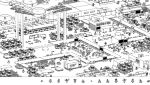 HiddenFolks-Factory-CarConstruction