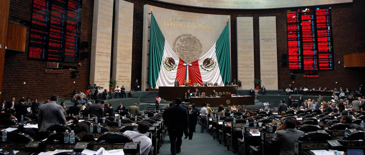 Resultado de imagen para camara de diputados mexico