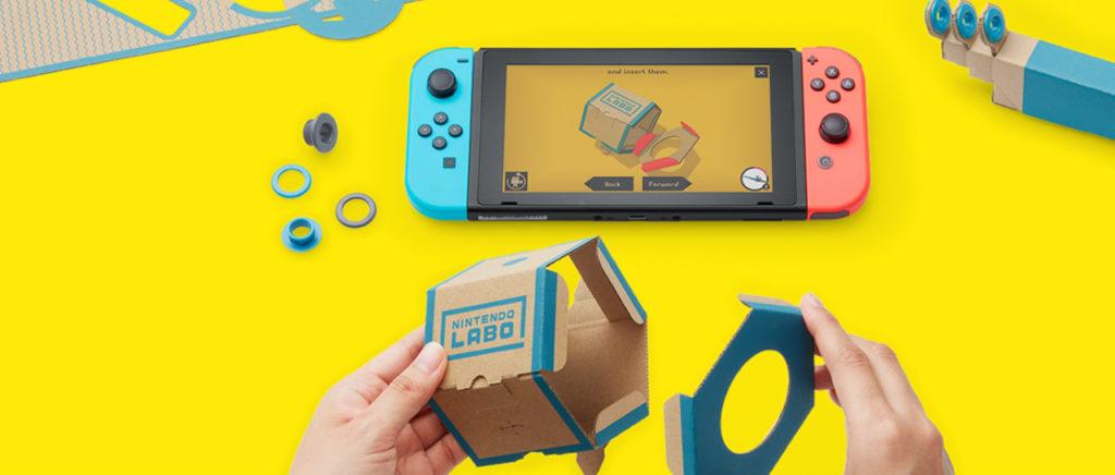 La sorpresa de Nintendo: un creativo juego llamado Nintendo Labo   Atomix