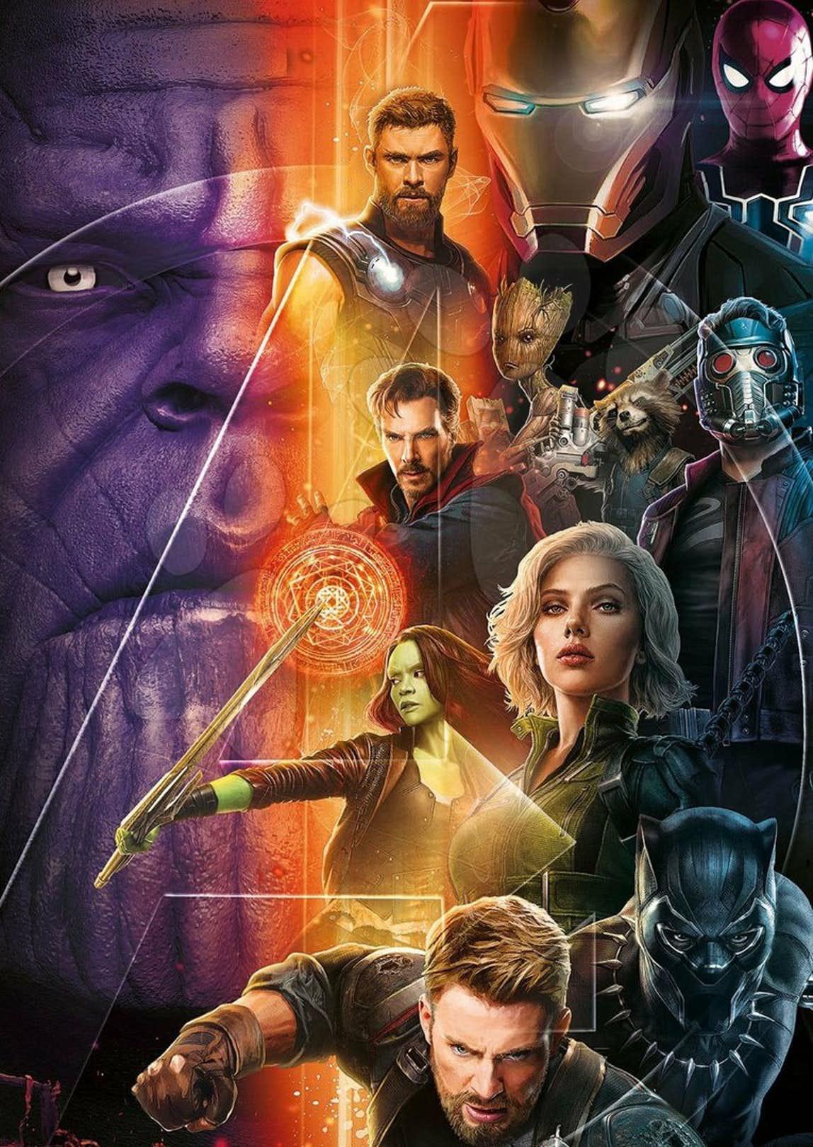 De Y WarAtomix Un AvengersInfinity Nuevo Genial Póster W9EeDH2IY