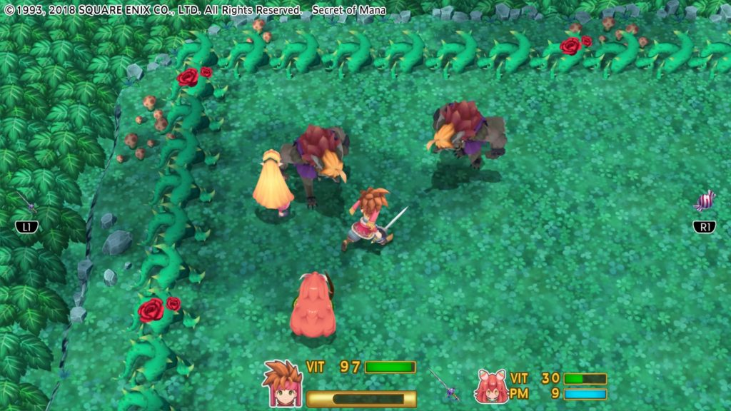 Secret of Mana Review Atomix