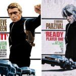 Gran homenaje a los clásicos del cine con los posters de Ready Player One Atomix