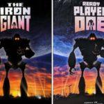 Gran homenaje a los clásicos del cine con los posters de Ready Player One Atomix 5
