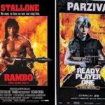 Gran homenaje a los clásicos del cine con los posters de Ready Player One Atomix 6
