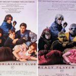 Gran homenaje a los clásicos del cine con los posters de Ready Player One Atomix 7