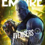 Mira estas increíbles portadas de Avengers Infinity War de la revista Empire Atomix