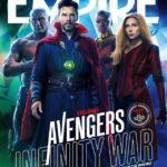 Mira estas increíbles portadas de Avengers Infinity War de la revista Empire Atomix 2