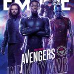 Mira estas increíbles portadas de Avengers Infinity War de la revista Empire Atomix 3