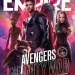 Mira estas increíbles portadas de Avengers Infinity War de la revista Empire Atomix 5