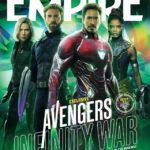 Mira estas increíbles portadas de Avengers Infinity War de la revista Empire Atomix 6