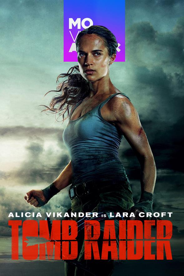 Resultado de imagen para Tomb Raider: Las aventuras de Lara Croft poster