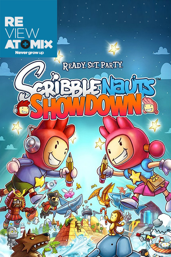 Scribblenauts Showdown Review Atomix