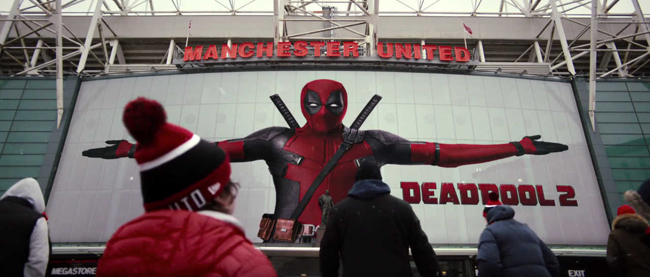 Deadpool Manchester United Atomix