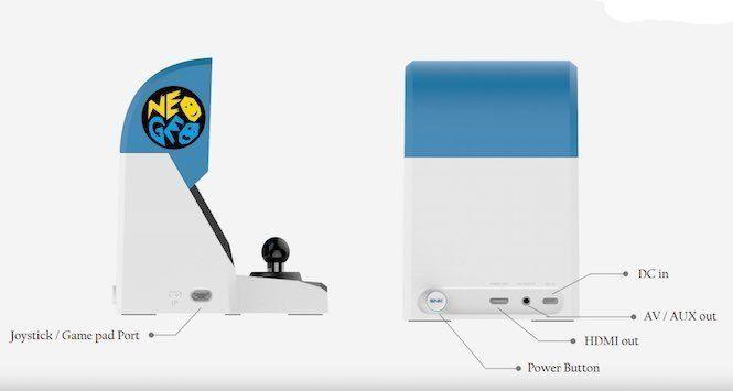 Neo Geo Mini ya es oficial: primeras imágenes y detalles