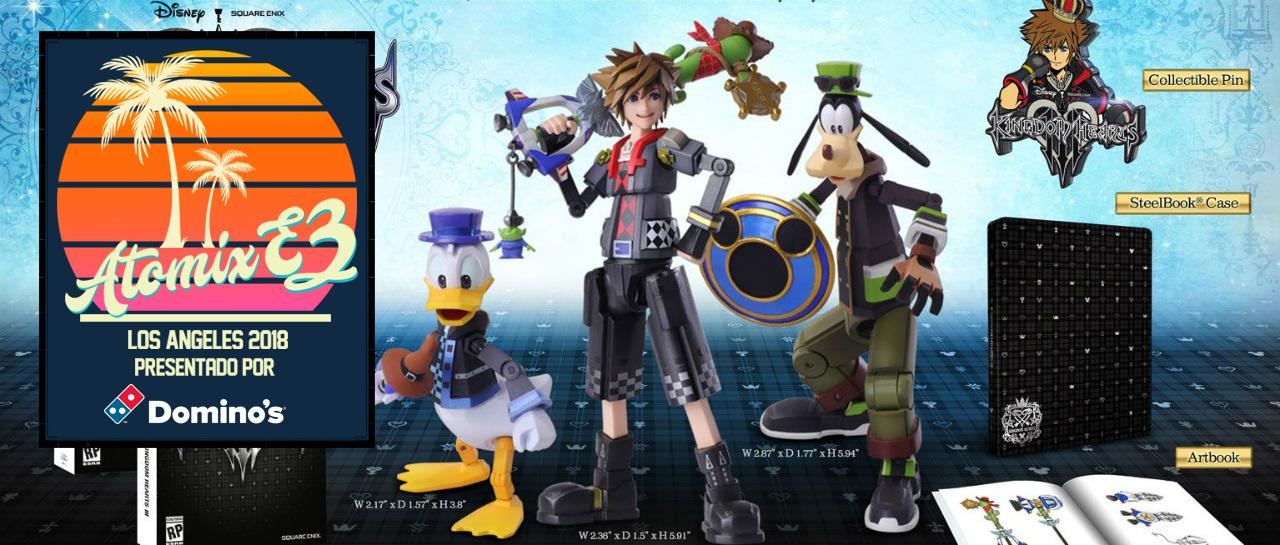 Contempla Las Dos Ediciones De Coleccion Que Tendra Kingdom Hearts
