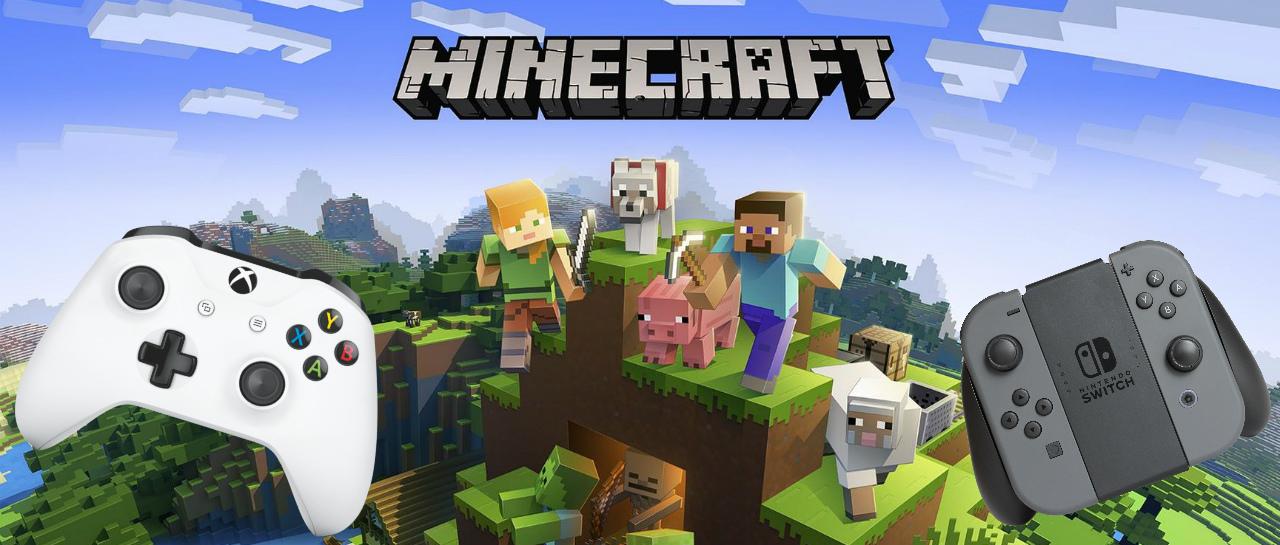 Minecraft de Switch ya tiene función Cross-play con Xbox One