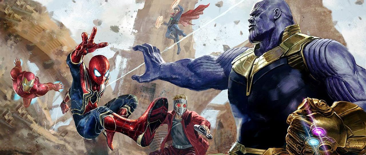 Éstos serían los looks que tendrían Thanos y los ...