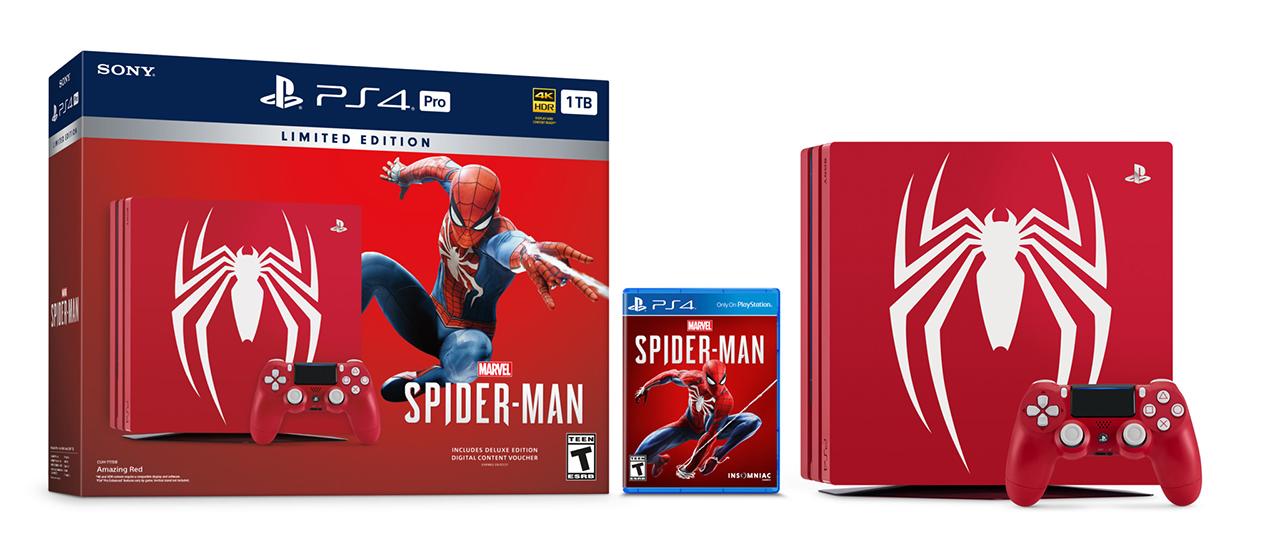 Nuevo Trailer Y Hasta Combo Con Ps4 Pro De Marvel S Spider Man Atomix