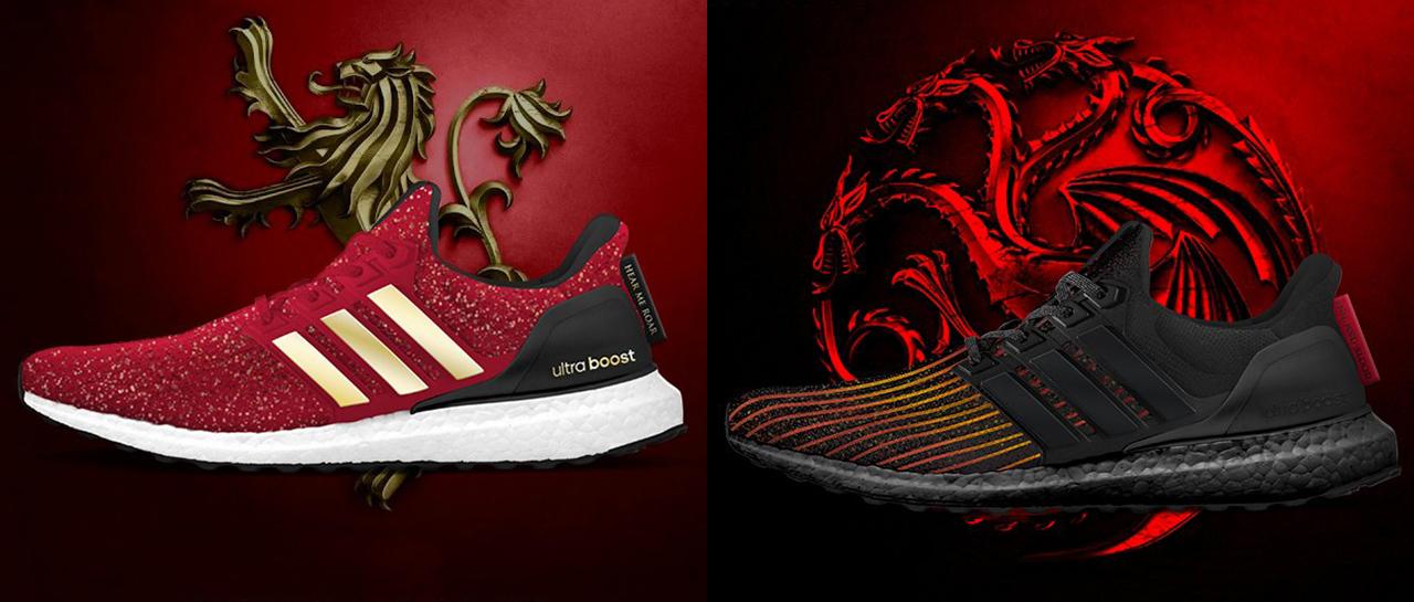 Adidas lanzará tenis tematizados de Game of Thrones | Atomix