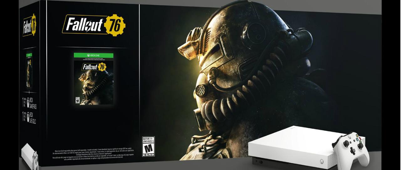 Anuncian Bundle Fallout 76 y control Xbox Elite White Special Edition