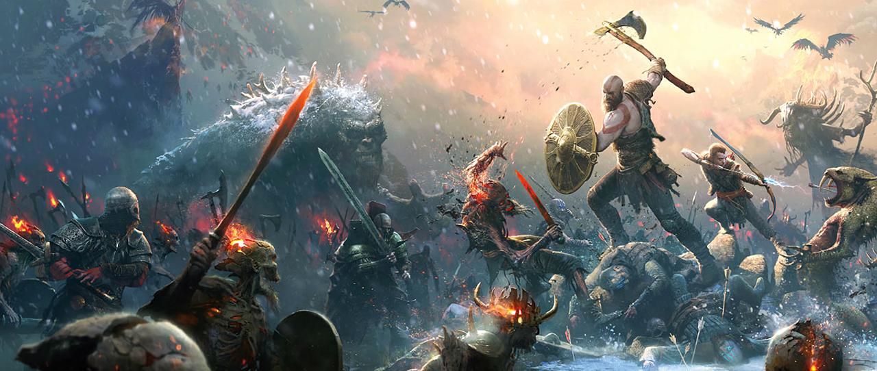 God of War arte