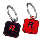 Keychain-Black+Red