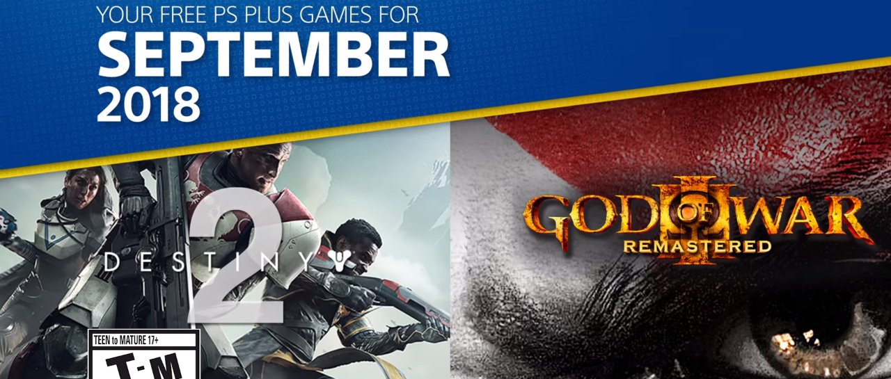 PSPlus_juegos_septiembre_Destiny2_GodofWar3