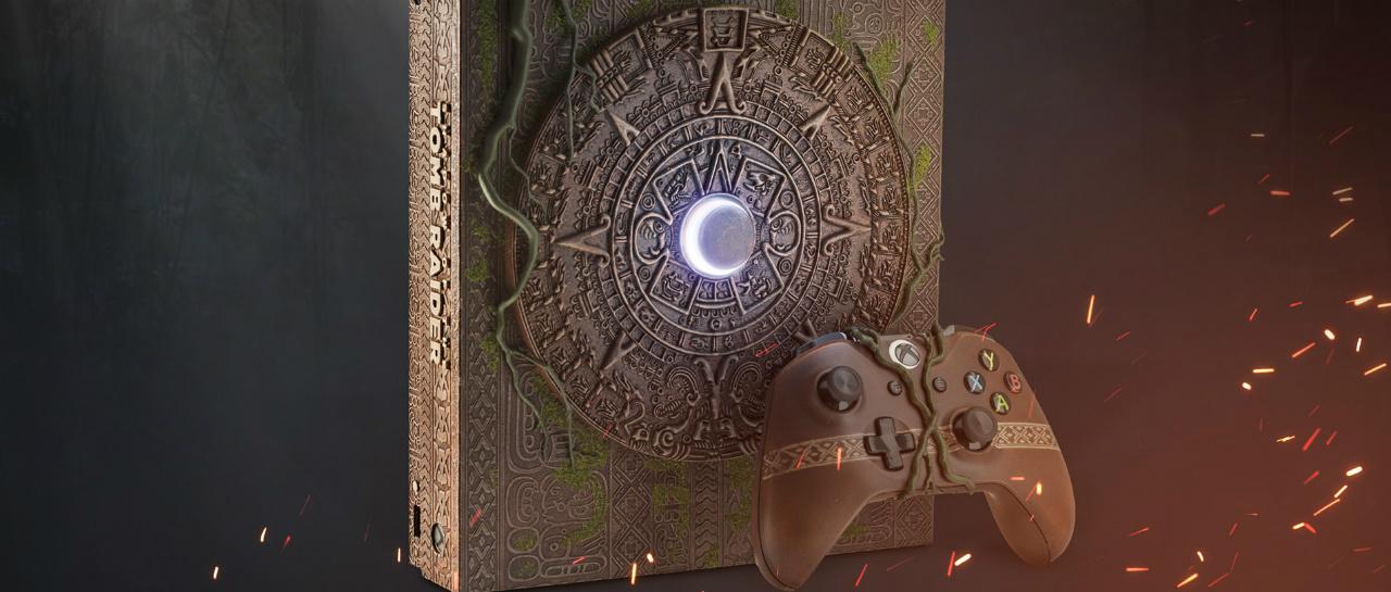 Xbox One X Shadow of the Tomb Raider apoyar a una buena causa