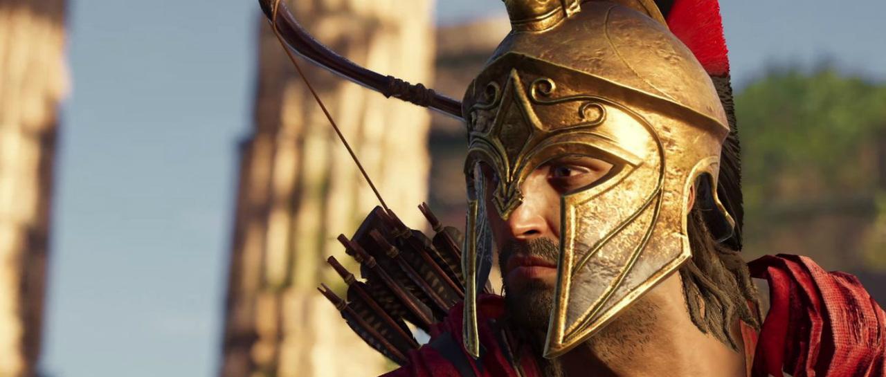 Admira el nuevo triler de Assassins Creed Odyssey