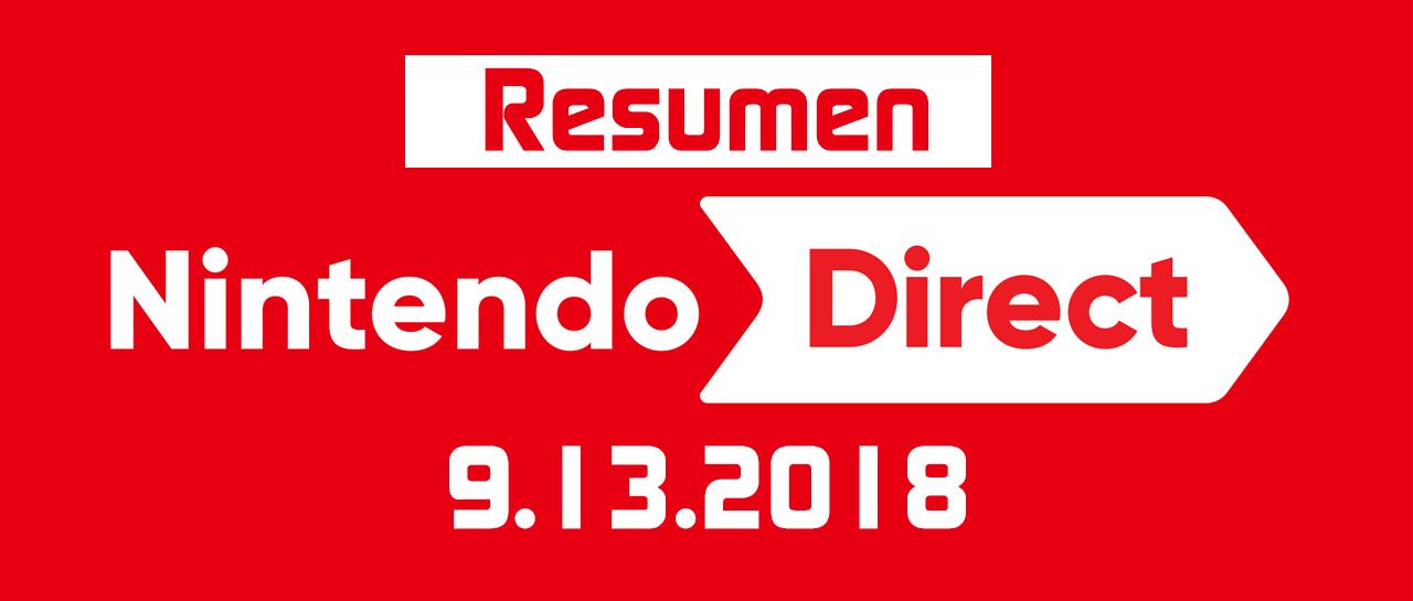 Banner Resumen Nintendo Direct 9.13.2018
