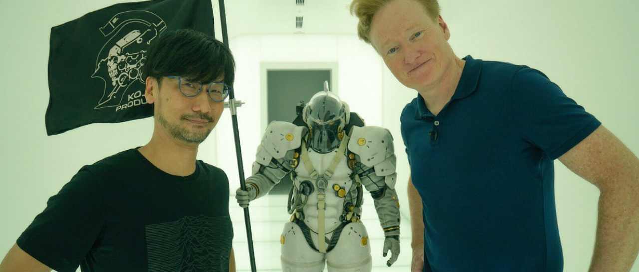 Conan OBrien visita a Hideo Kojima en sus estudios de produccin