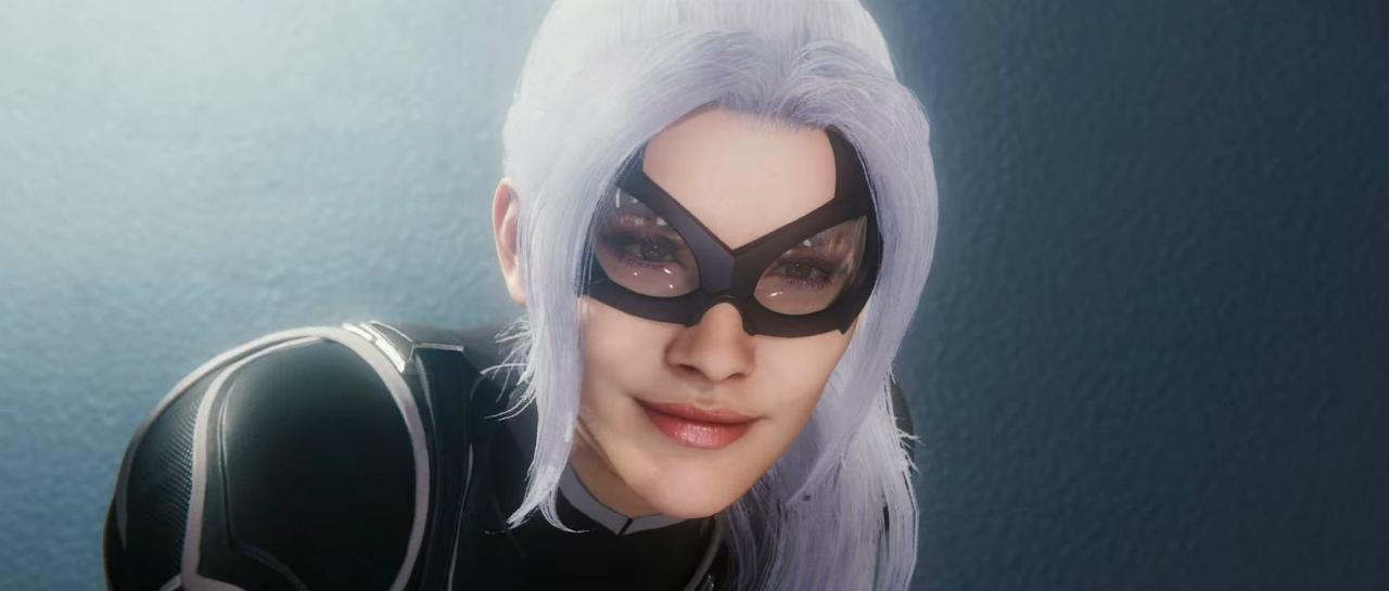 Corto y dulce el teaser del DLC donde Black Cat es la antagonista de Spider-Man