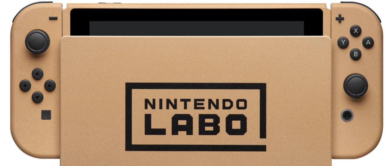 Exhiben el Nintendo Switch Labo y liberan firmware para Wii U