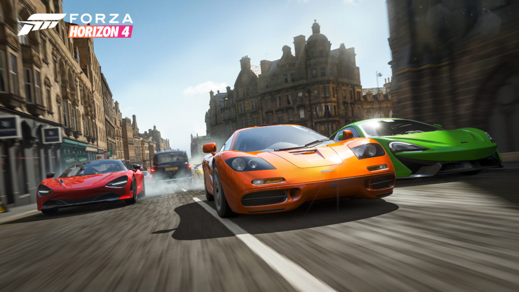 Forza Horizon 4 Edinburgh Race