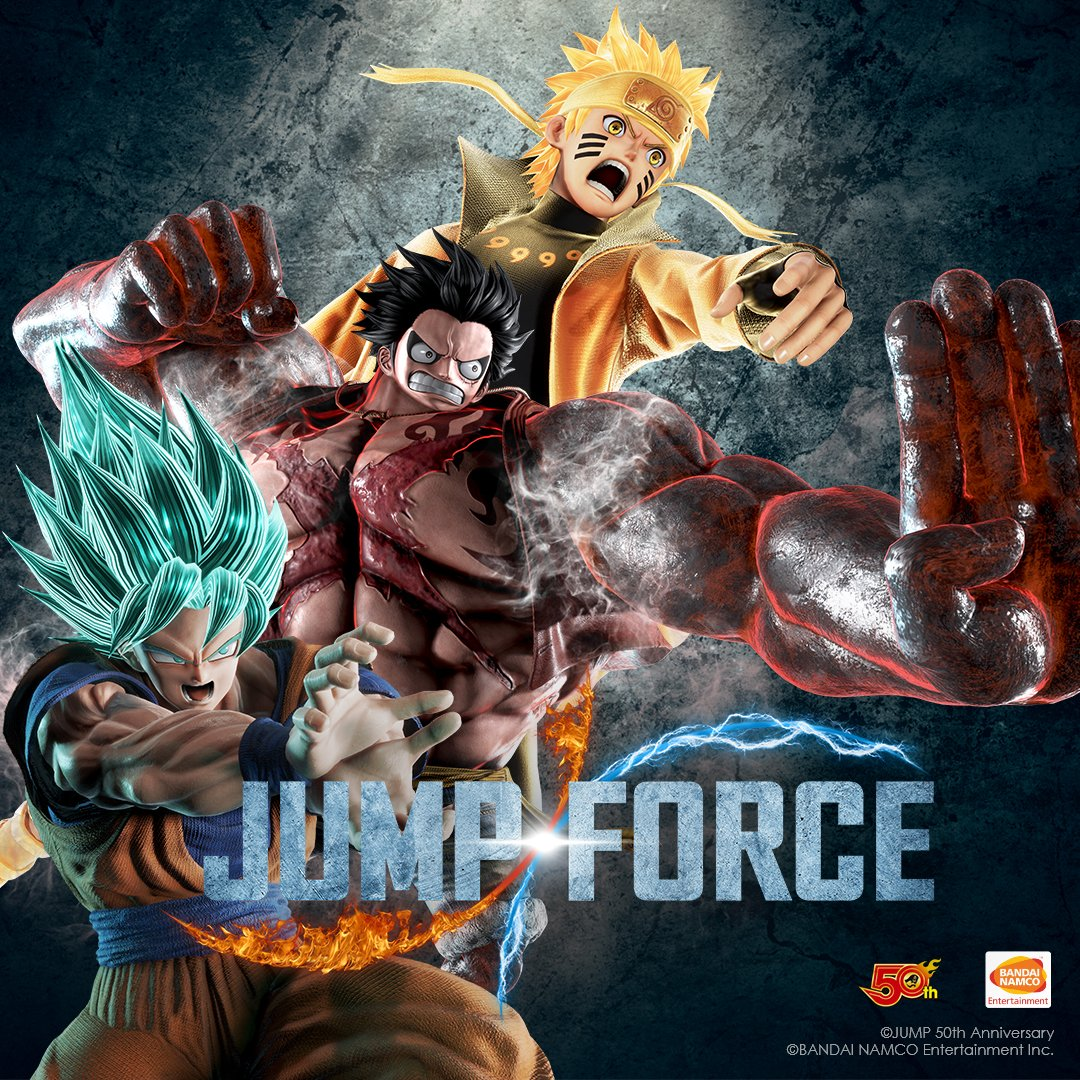 Jump Force Super Saiyan Blue Goku transformation