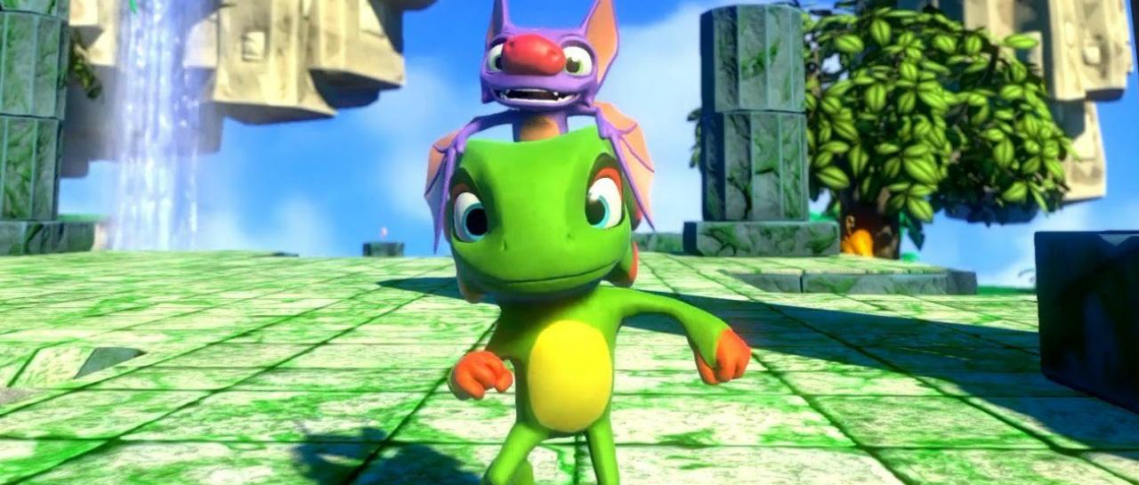 Llegar Yooka-Laylee con una versin especial estilo N64