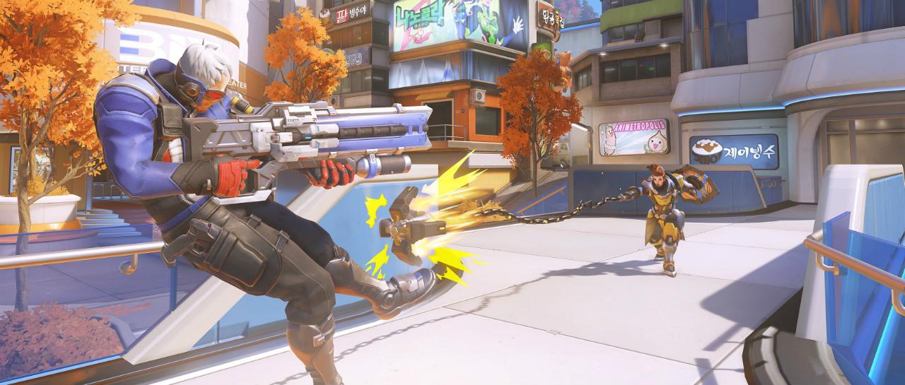 Nuevo mapa de Overwatch Busan ser el campo de batalla