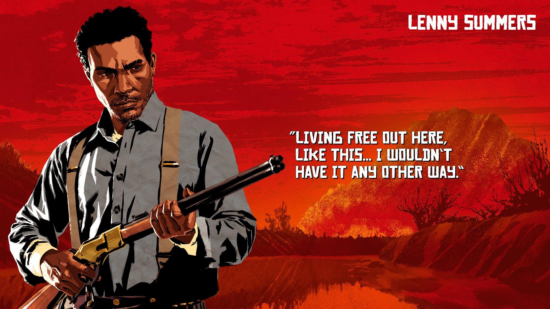 Conoce A Los Personajes De Red Dead Redemption 2 Con Esta