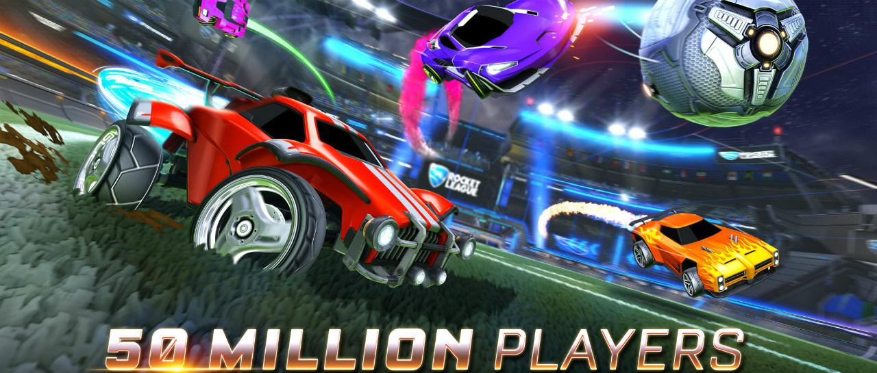 Rocket League rompe la barrera de 50 millones