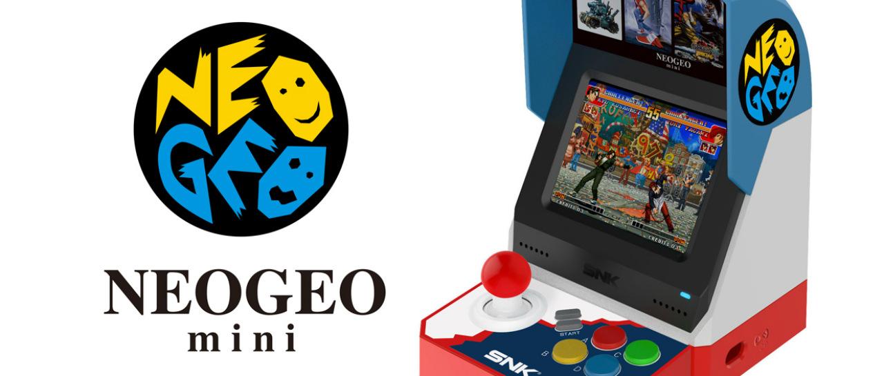 SNK anuncia el inicio de la preventa de las Neo Geo Mini