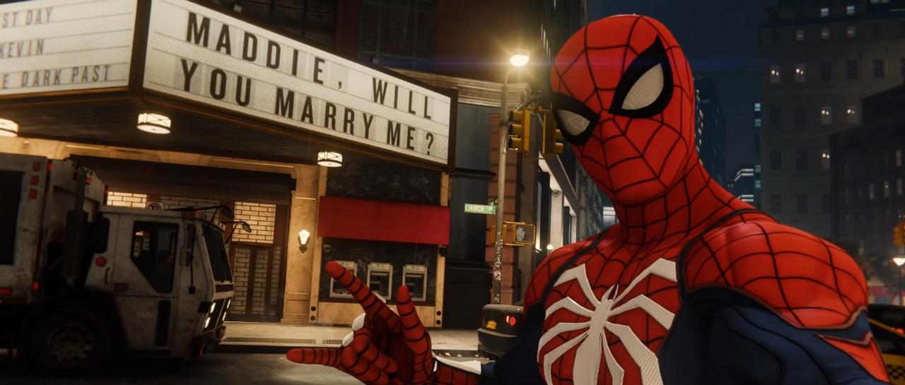 SpiderManPS4_PorpuestaMatrimonio