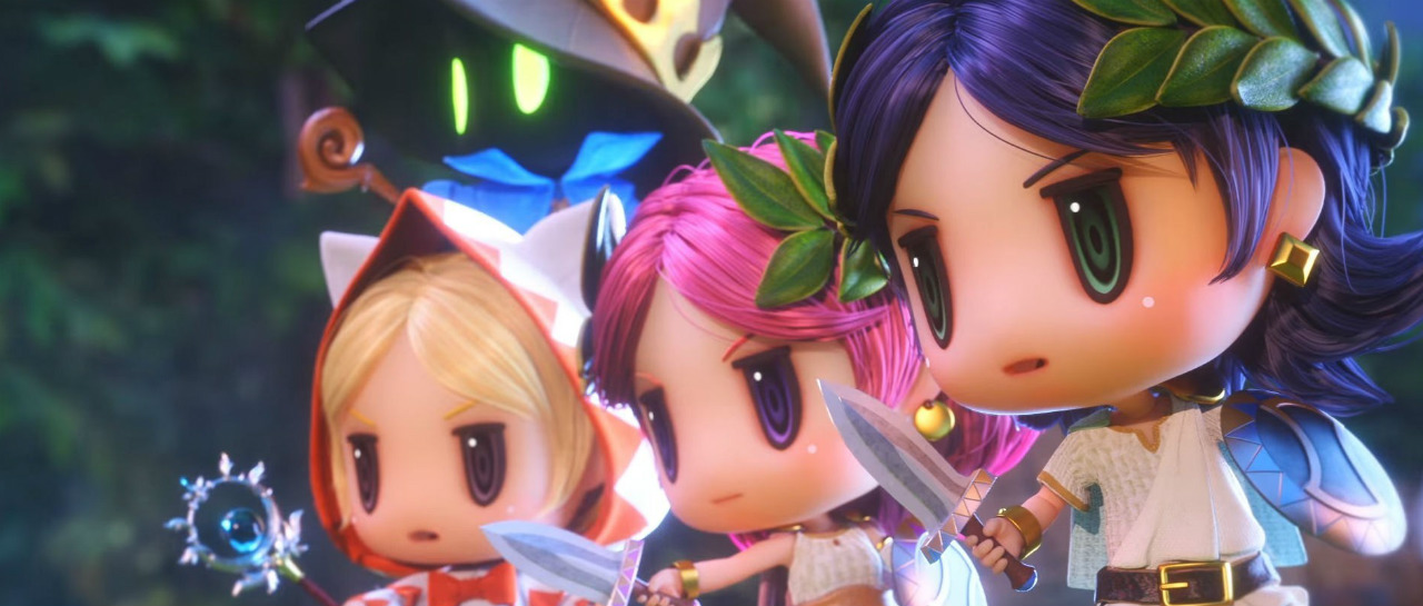Square Enix exhibe el trailer de World of Final Fantasy Maxima