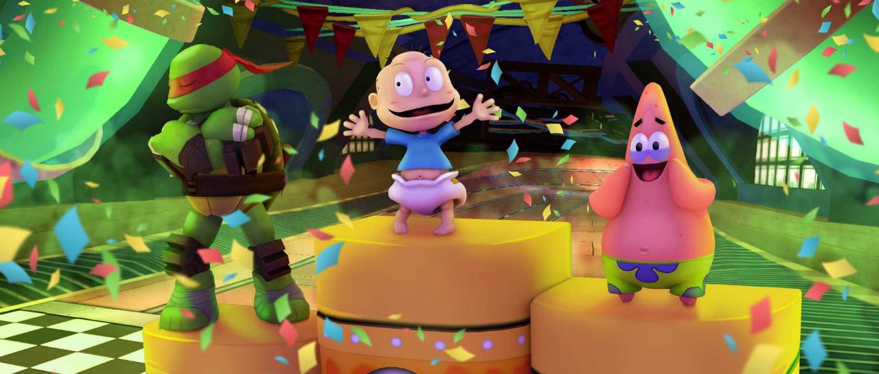 Triler de Nickelodeon Kart Racers hace su aparicin