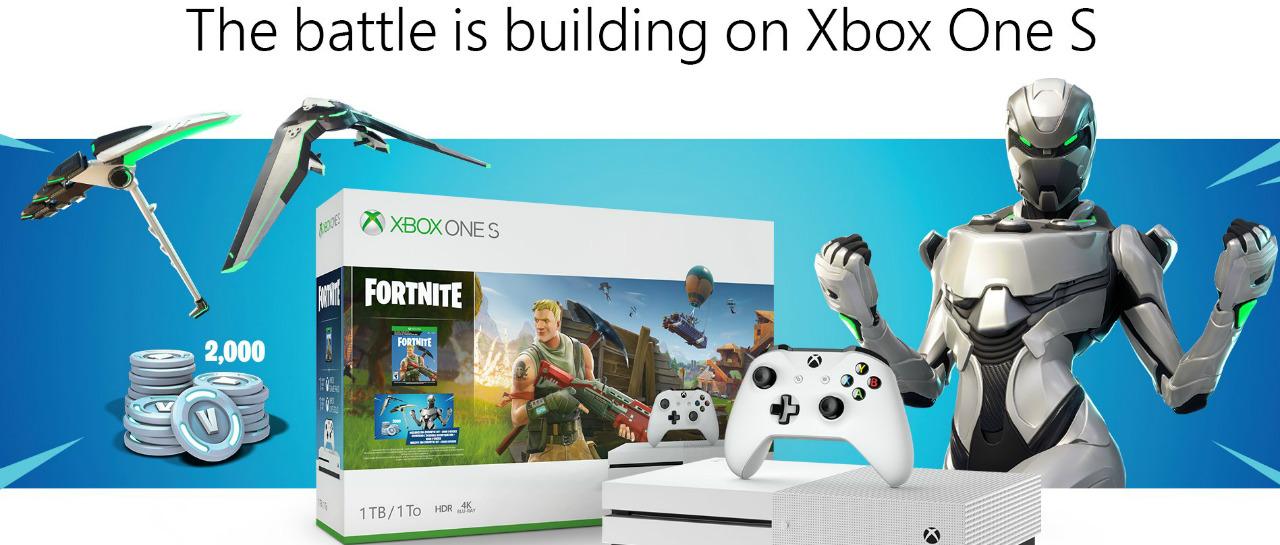 Xbox One S Fortnite se presenta