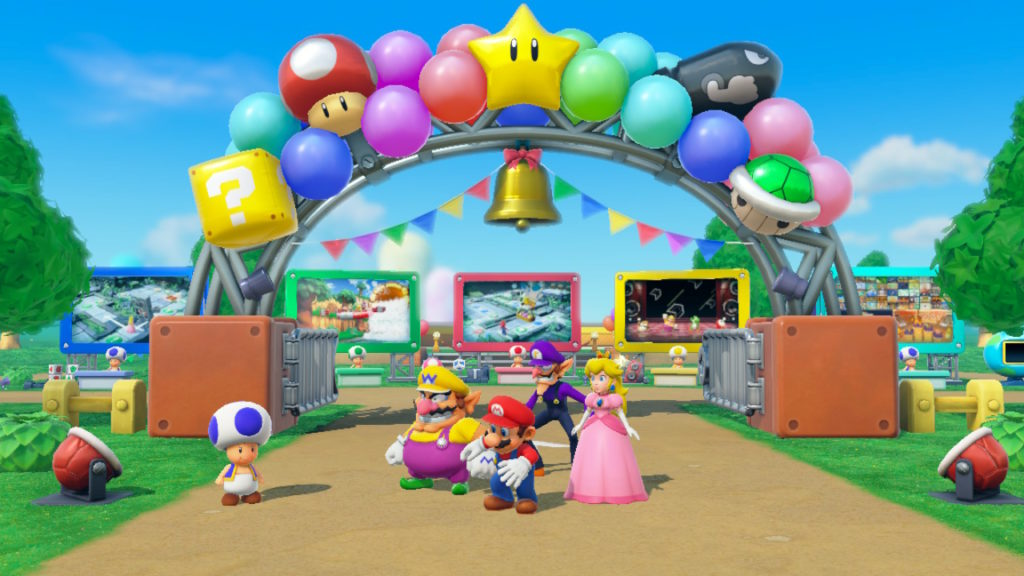 Review Super Mario Party Atomix