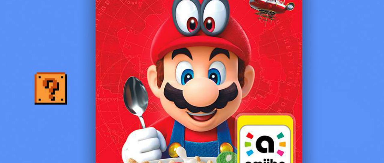 El desayuno de los campeones Super Mario Cereal ya est en Mxico