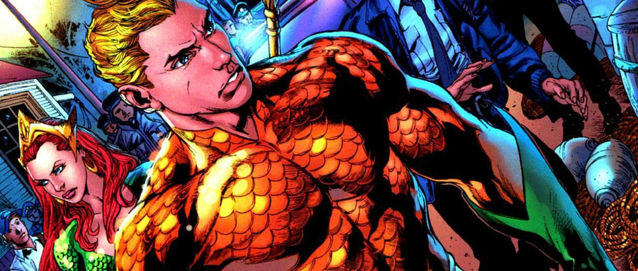 El nuevo pster de Aquaman hace un guio al estilo clsico del hroe