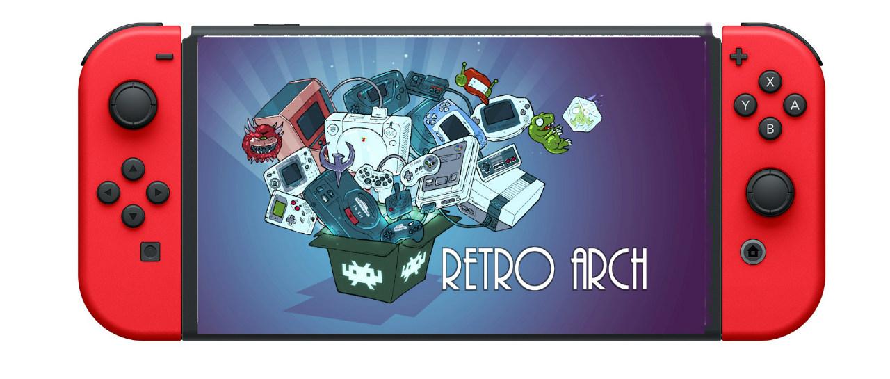 Emulador RetroArch funciona en Nintendo Switch