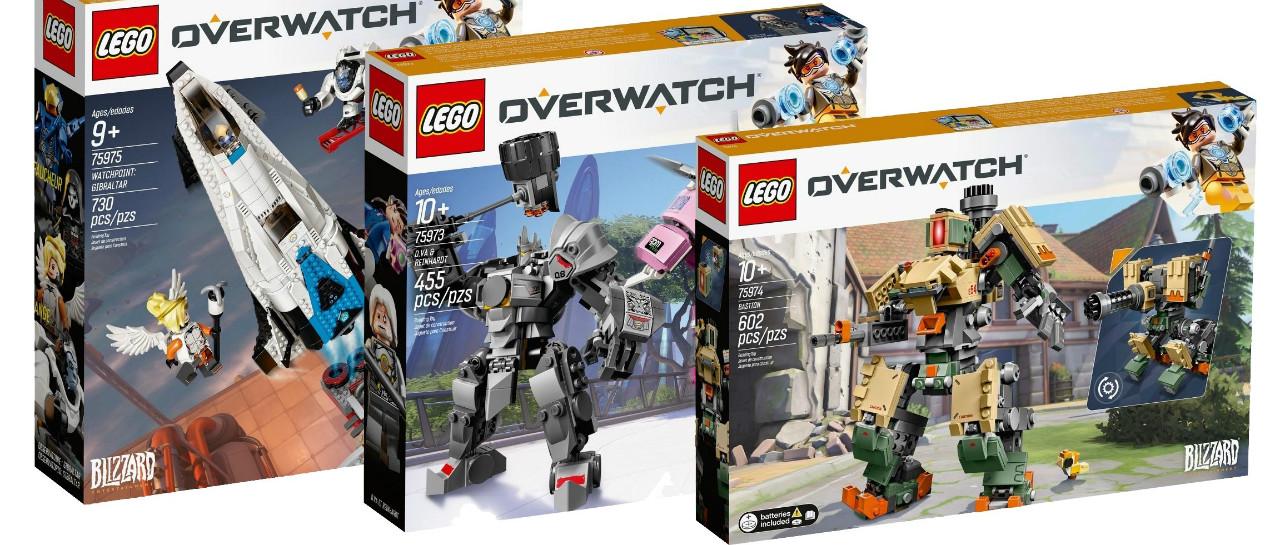 Filtraron las figuras LEGO de Overwatch